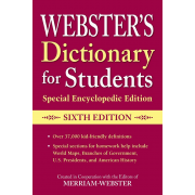 Webster's Dictionary for Students, Special Encyclopedic Edition - Sixth Edition