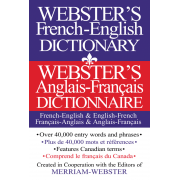 Webster's French - English Dictionary