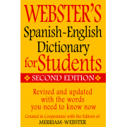 Webster's Spanish ~ English Dictionary for Students