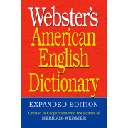 Webster's American English Dictionary; Expanded Edition