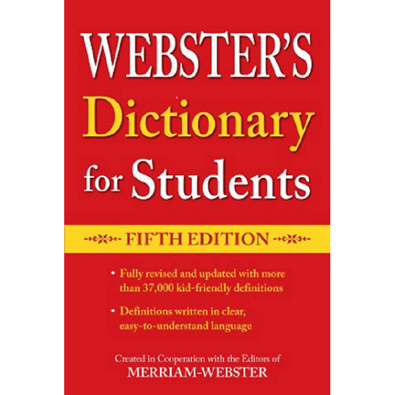 Webster's Dictionary for Students, Fifth Edition