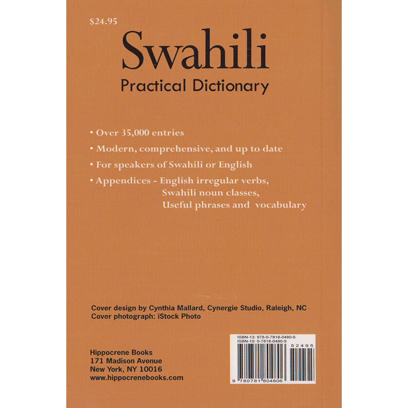 Swahili / English Practical Dictionary